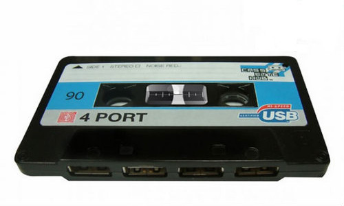 Casette con puertos USB